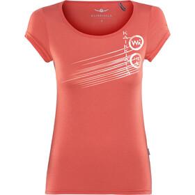 Kaikkialla Tytti Drirelease t-shirt Dames oranje